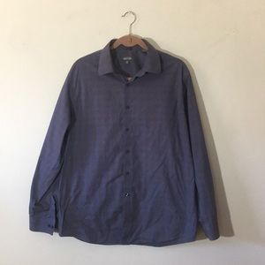 Kenneth Cole button down. Blue/black